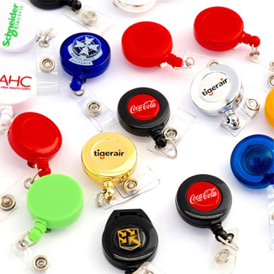 Custom Retractable Key Rings